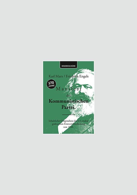 Kommunistisches Manifest Minibroschüre