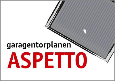 ASPETTO Garagentorplanen